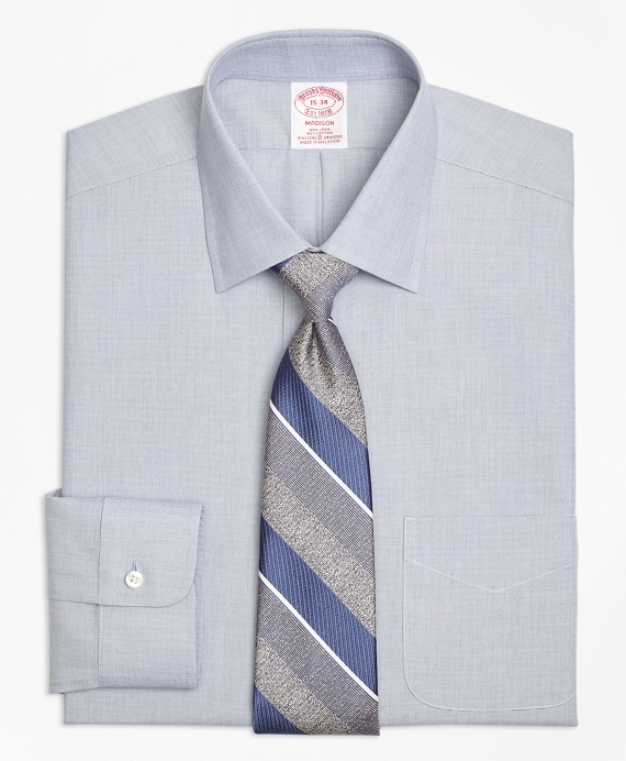 Stretch Madison Classic-Fit Dress Shirt, Non-Iron End-on-End