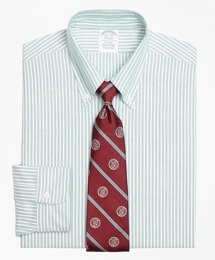 Regent Fit Original Polo® Button-Down Oxford Ground Stripe Dress Shirt