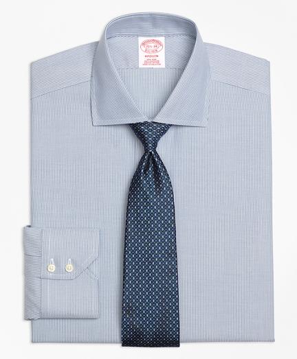 Non-Iron Madison Fit Mini-Stripe Dress Shirt