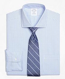 Non-Iron Regent Fit Dobby Windowpane Dress Shirt