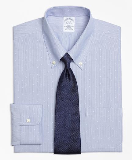 Non-Iron Regent Fit Dobby Hairline Stripe Dress Shirt