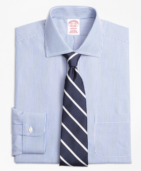 Non-Iron Madison Fit Candy Stripe Dress Shirt