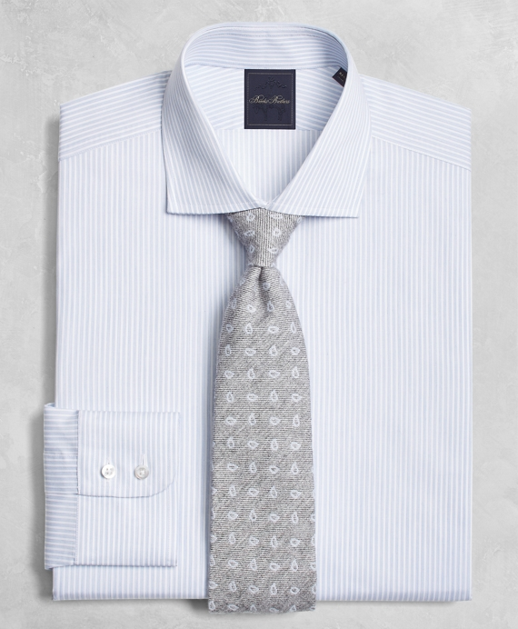Golden Fleece® Regent Fit Hairline-Candy-Stripe English-Collar Dress Shirt