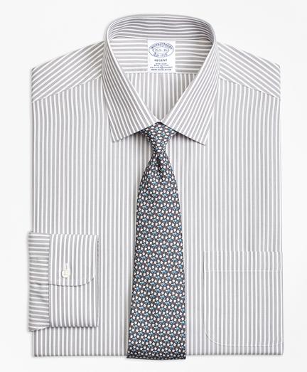Non-Iron Regent Fit Music Stripe Stretch Dress Shirt