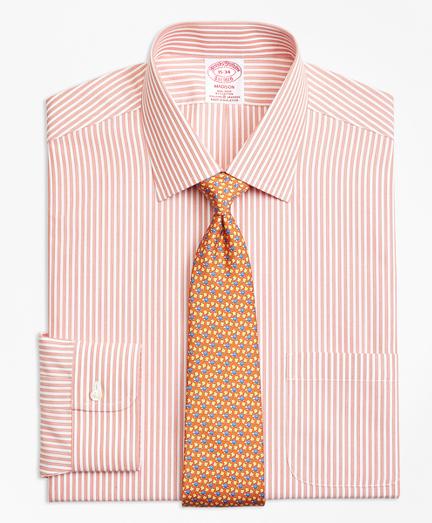 Non-Iron Madison Fit Music Stripe Stretch Dress Shirt