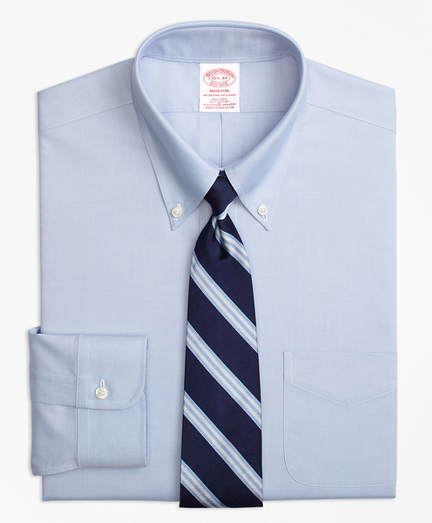 Stretch Madison Classic-Fit Dress Shirt, Non-Iron Button-Down Collar