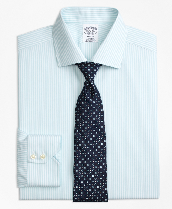 Regent Fitted Dress Shirt, Non-Iron Stripe