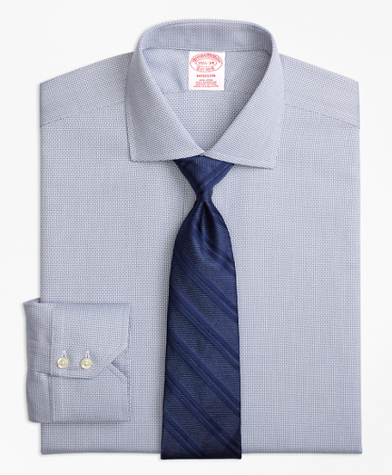 Madison Classic-Fit Dress Shirt, Non-Iron Textured Solid