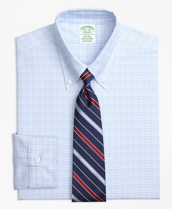 Original Polo® Button-Down Oxford Milano Slim-Fit Dress Shirt, Plaid