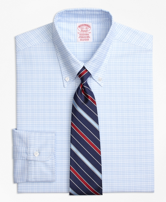Original Polo® Button-Down Oxford Traditional Relaxed-Fit Dress Shirt, Plaid