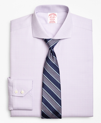 Madison Classic-Fit Dress Shirt, Non-Iron Plaid