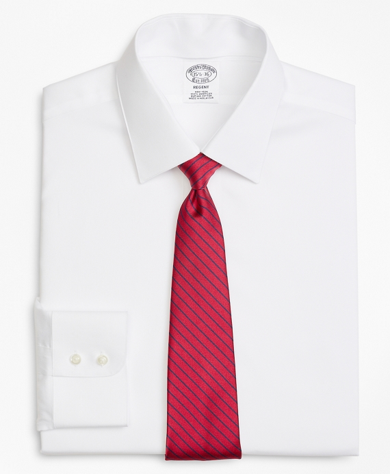 Regent Fit Limited-Edition Non-Iron Interchangeable-Collar Shirt White