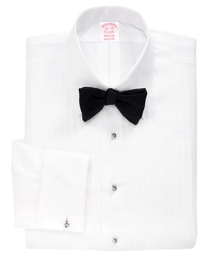 Madison Fit Ten-Pleat Tennis Collar Tuxedo Shirt