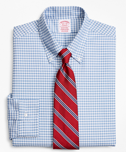 Original Polo® Button-Down Oxford Traditional Fit Dress Shirt, Gingham