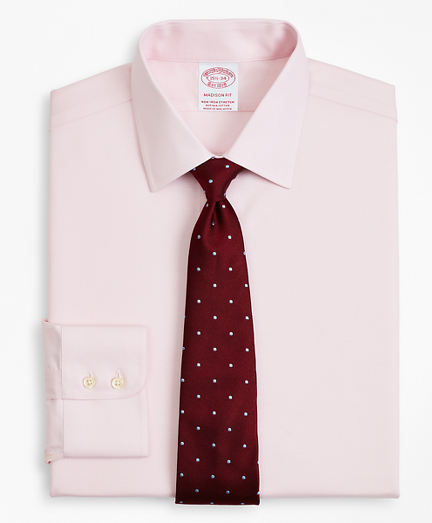 Stretch Madison Classic-Fit Dress Shirt, Non-Iron Twill Ainsley Collar