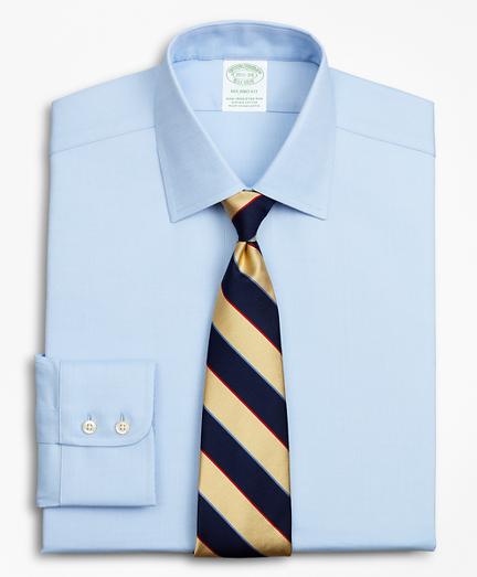 Stretch Milano Slim-Fit Dress Shirt, Non-Iron Royal Oxford Ainsley Collar