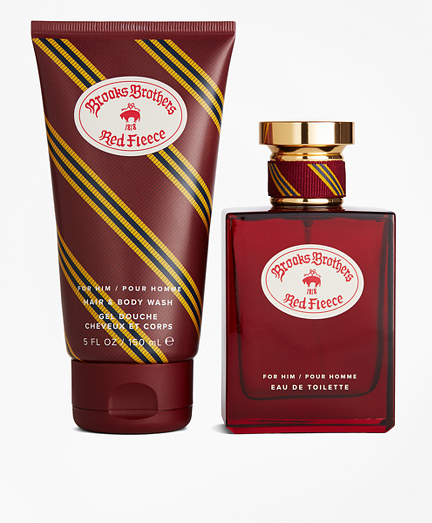 Red Fleece Fragrance Gift Set
