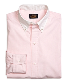 Own Make Pink Pinpoint Sport Shirt