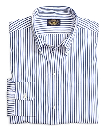 Own Make Blue Bold Stripe Sport Shirt