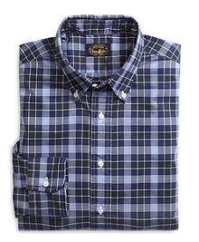 Own Make Blue Plaid Sport Shirt