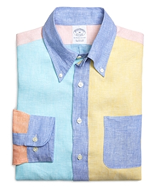 Slim Fit Linen Fun Sport Shirt