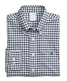 Non-Iron Slim Fit Check Sport Shirt