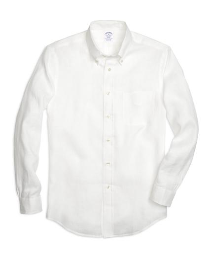 Regent Fit Linen Sport Shirt
