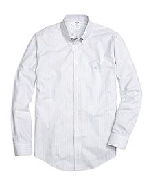 Non-Iron Regent Fit Track Stripe Sport Shirt