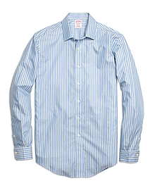 Non-Iron Madison Fit Twin Stripe Sport Shirt