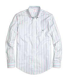 Madison Fit Oxford Stripe Sport Shirt