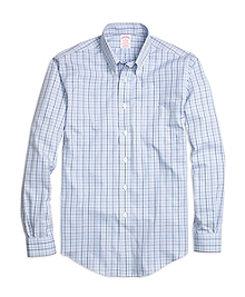Non-Iron Madison Fit Multicheck Sport Shirt