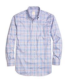 Golden Fleece® Madison Fit Glen Plaid Sport Shirt