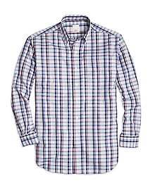 Golden Fleece® Madison Fit Plaid Sport Shirt