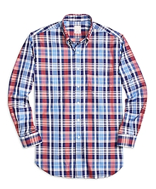 Golden Fleece® Madison Fit Large Plaid Sport Shirt