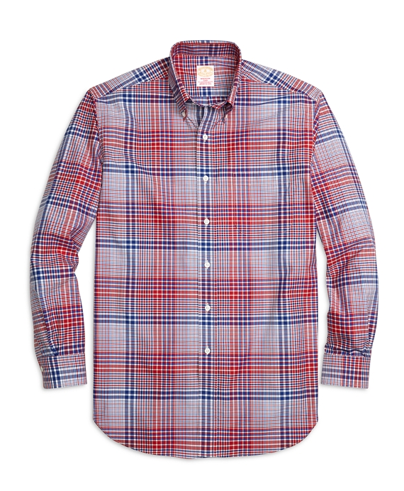 Golden Fleece® Madison Fit Bold Plaid Sport Shirt Multi