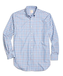 Golden Fleece® Madison Fit Check with Windowpane Sport Shirt