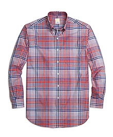 Golden Fleece® Regent Fit Bold Plaid Sport Shirt