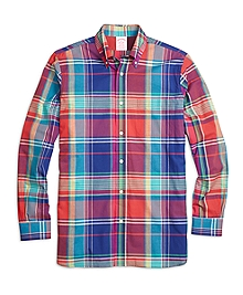 Madison Fit Sodalite Madras Sport Shirt