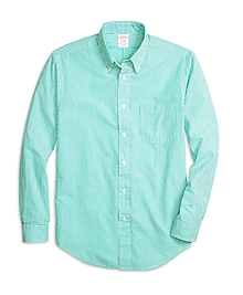 Madison Fit Seersucker Stripe Sport Shirt