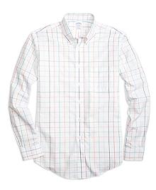 Non-Iron BrooksCool® Regent Fit Large Tattersall Sport Shirt