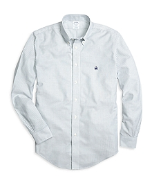 Non-Iron Regent Fit Classic Stripe Sport Shirt