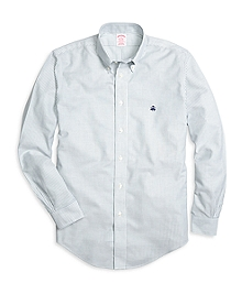 Non-Iron Madison Fit Classic Stripe Sport Shirt