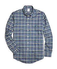 Non-Iron Regent Fit Multiplaid Sport Shirt