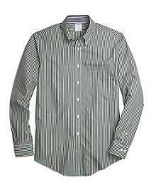 Non-Iron Regent Fit Micro Check Sport Shirt