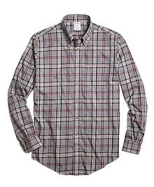 Non-Iron Regent Fit Signature Tartan Sport Shirt