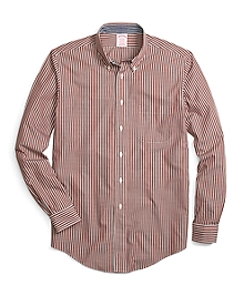 Non-Iron Madison Fit Micro Check Sport Shirt