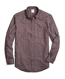 Madison Fit Flannel Gingham Sport Shirt
