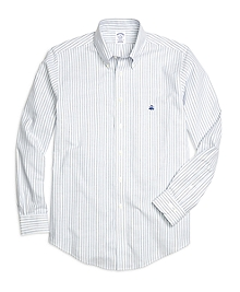 Non-Iron BrooksCool® Regent Fit Double Stripe Sport Shirt