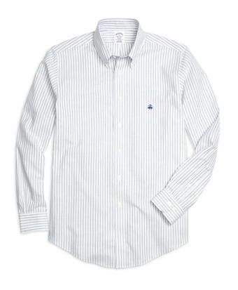 Non-Iron BrooksCool® Regent Fit Double Stripe Sport Shirt