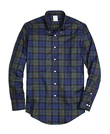 Non-Iron Regent Fit Baird Tartan Sport Shirt